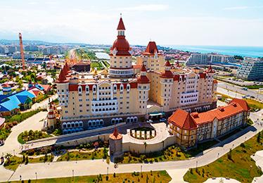 Богатырь отель-замок