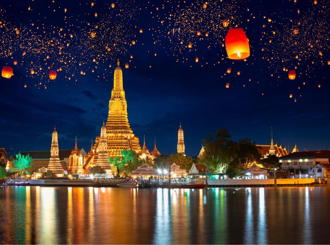 Du lịch Thái Lan 3N2Đ: Bangkok (khách sạn 3 sao)
