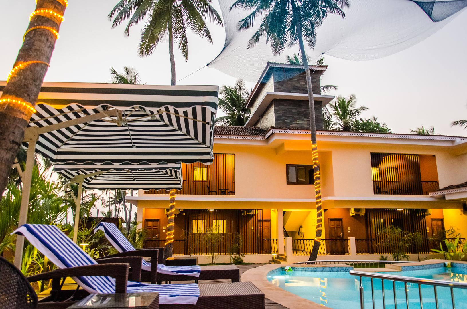 Прекрасный отель на ГОА ! Индия !