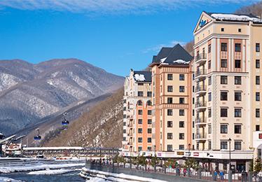 Valset Apartments by AZIMUT Роза Хутор