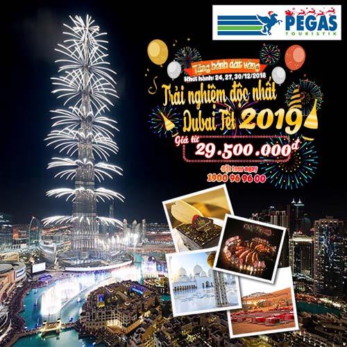 Đón năm mới 2019 tại Dubai