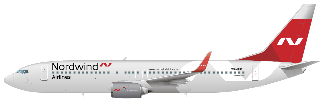 boeing 737 800ng nordwind airlines