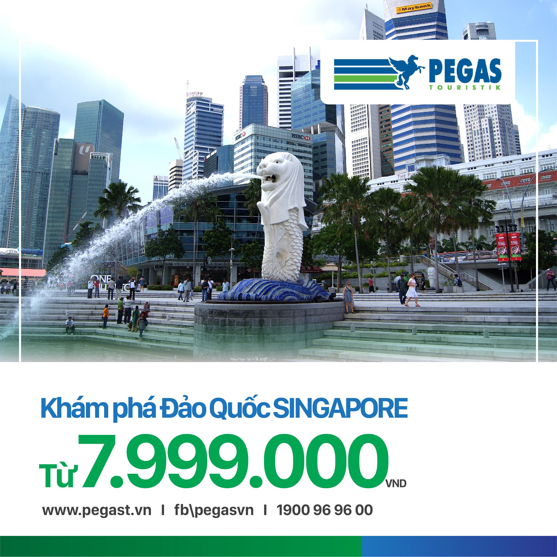 KHÁM PHÁ SINGAPORE - 3 NGÀY 2 ĐÊM