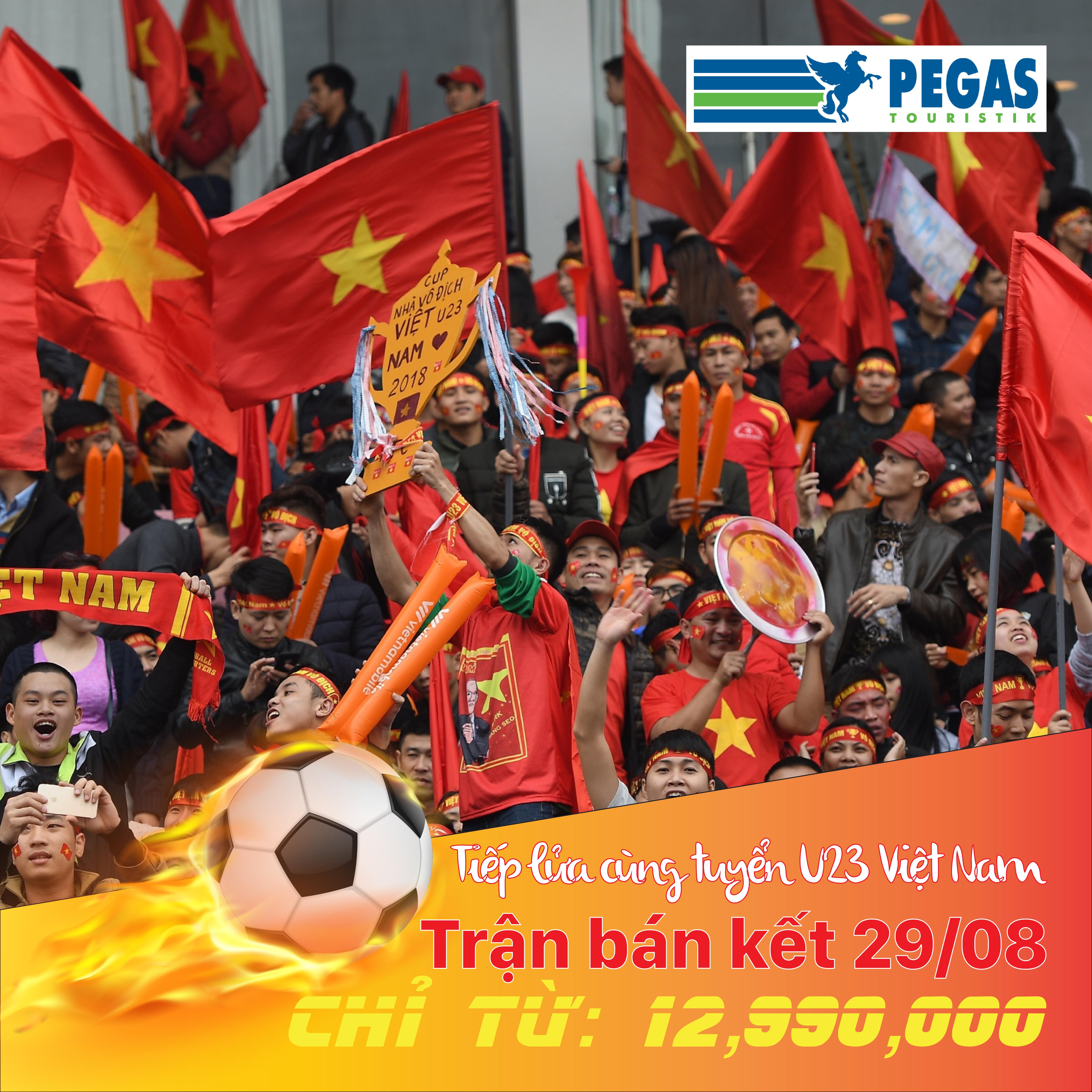 Vé Cổ Vũ Bán Kết Asiad U23 Việt Nam
